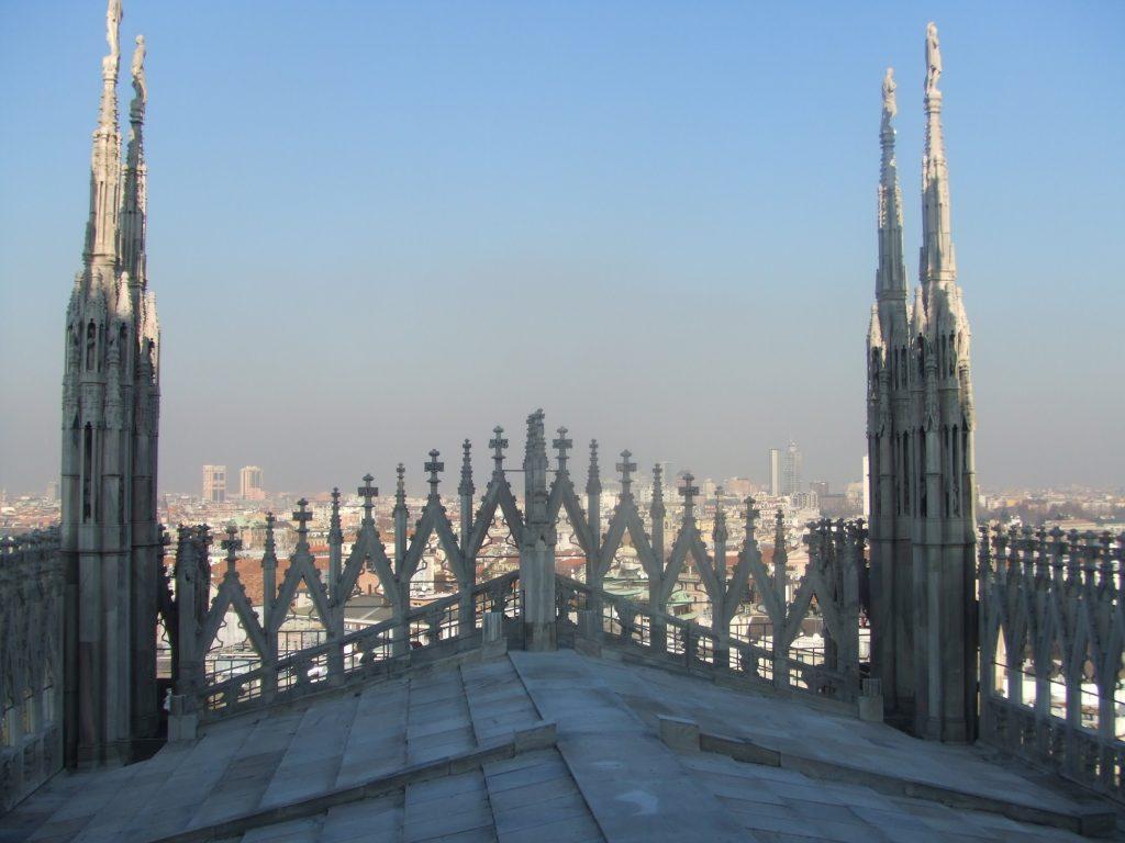 ミラノで一番有名なDUOMO!
